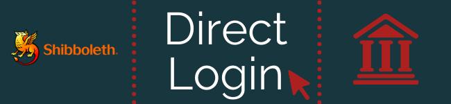 Direct Login Shibboleth