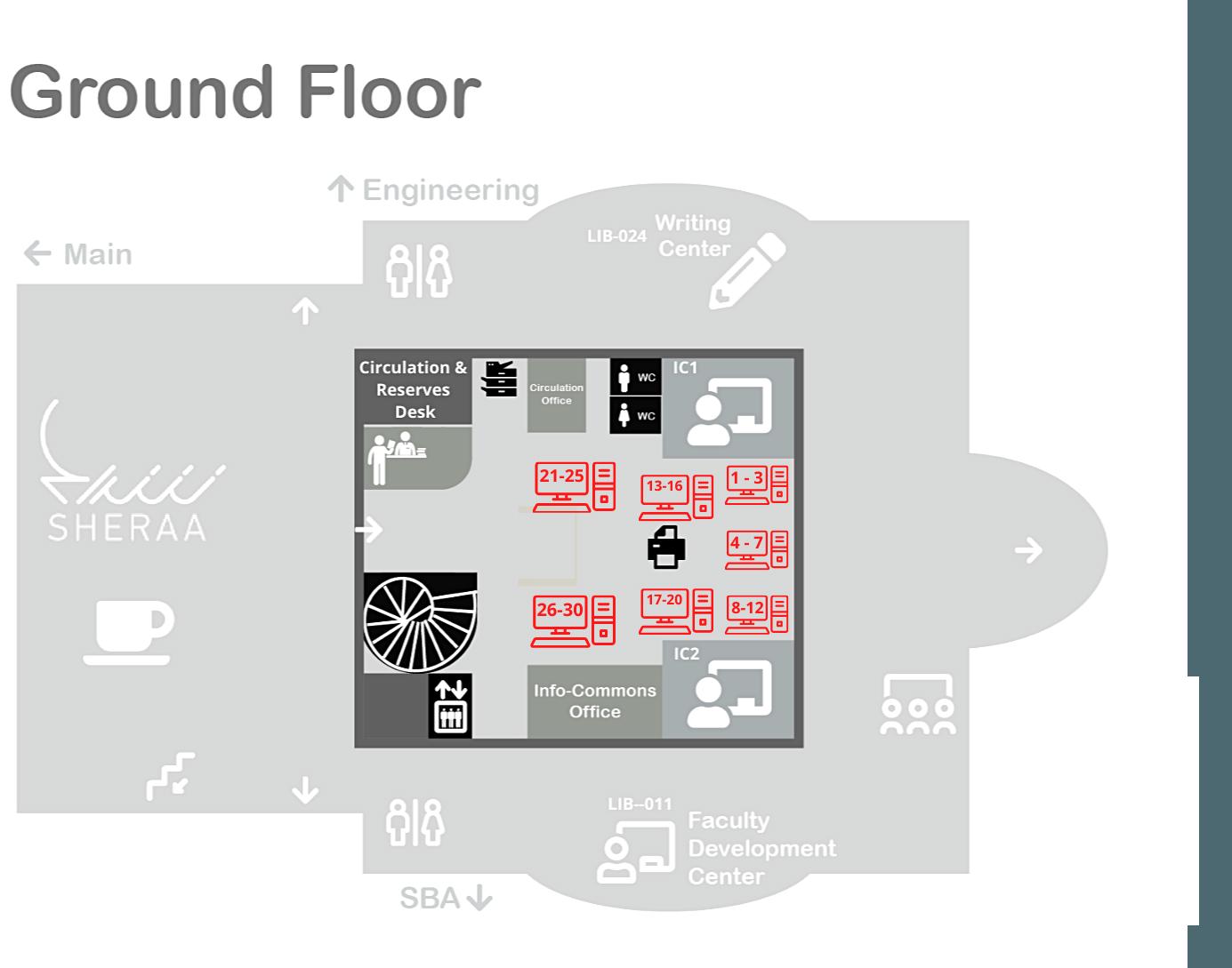 PCs Ground Floor