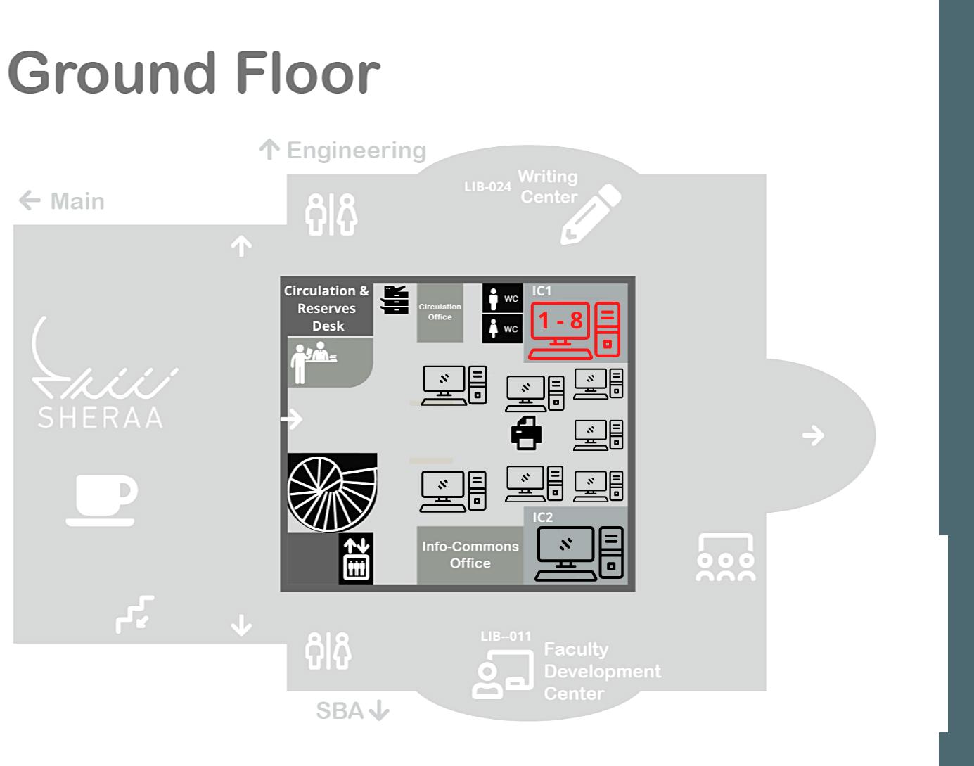 PCs IC1 Ground Floor