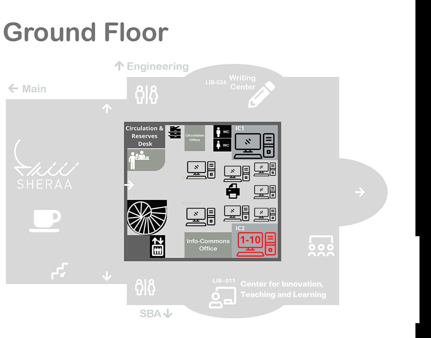 PCs IC2 Ground Floor